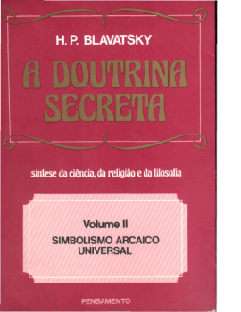 A Doutrina Secreta Vol II